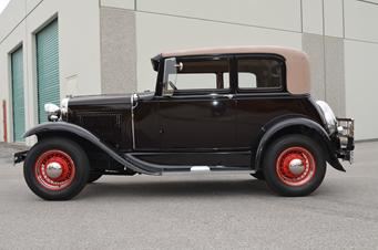 1931 Model A Leatherback Sold