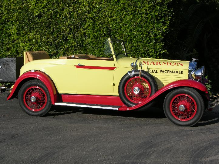 1928 Marmon Indianapolis Pace Car